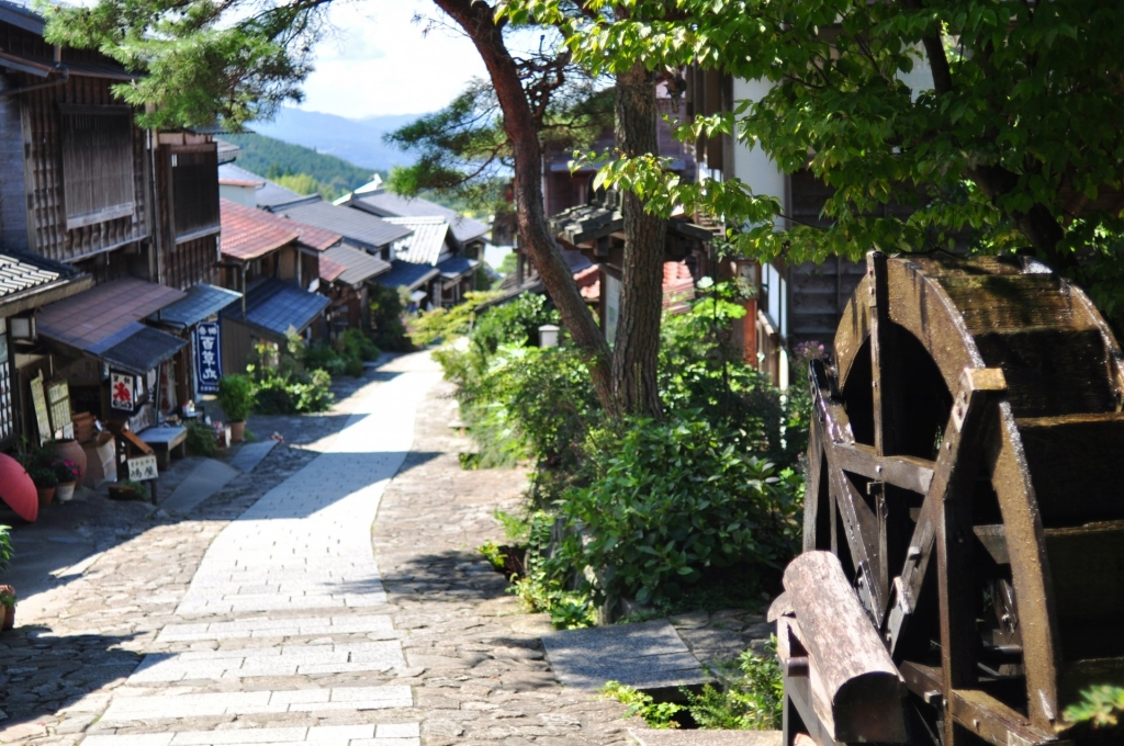 10:30 Arrival at Magome Post Town, start hiking to Tsumago Post Town