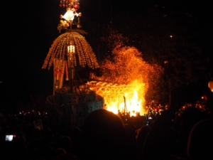 Jan. 15 From Hakuba & Nagano: Nozawa Fire Festival & Snow Monkeys