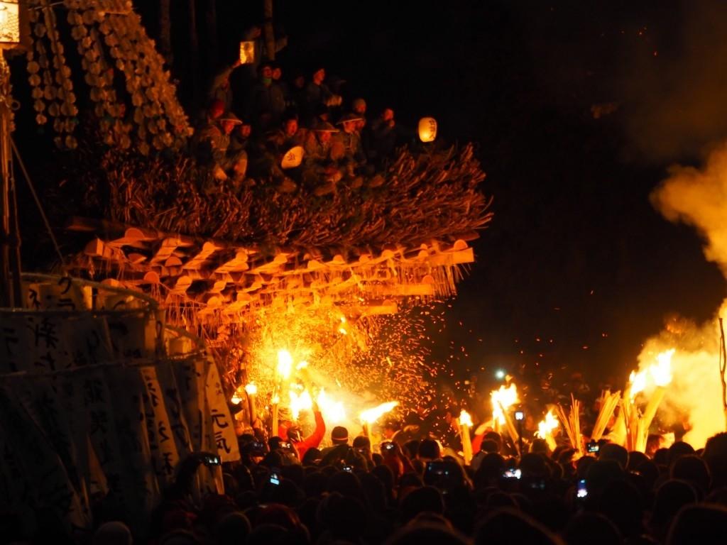 Jan. 15 From Hakuba & Nagano: Nozawa Fire Festival & Snow Monkeys