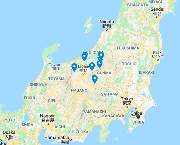 Nagano Ski Resorts Transfer Service