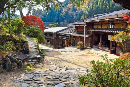 2-Day From/To Nagano: Historic Nakasendo Walking Tour