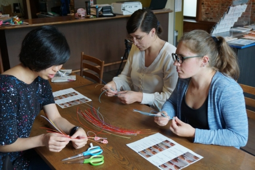 'MIZUHIKI' (PAPER CORD) MAKING EXPERIENCE IN NAGANO CITY