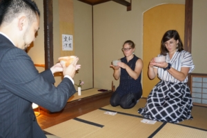 TRADITIONAL TEA CEREMONY IN NAGANO CITY