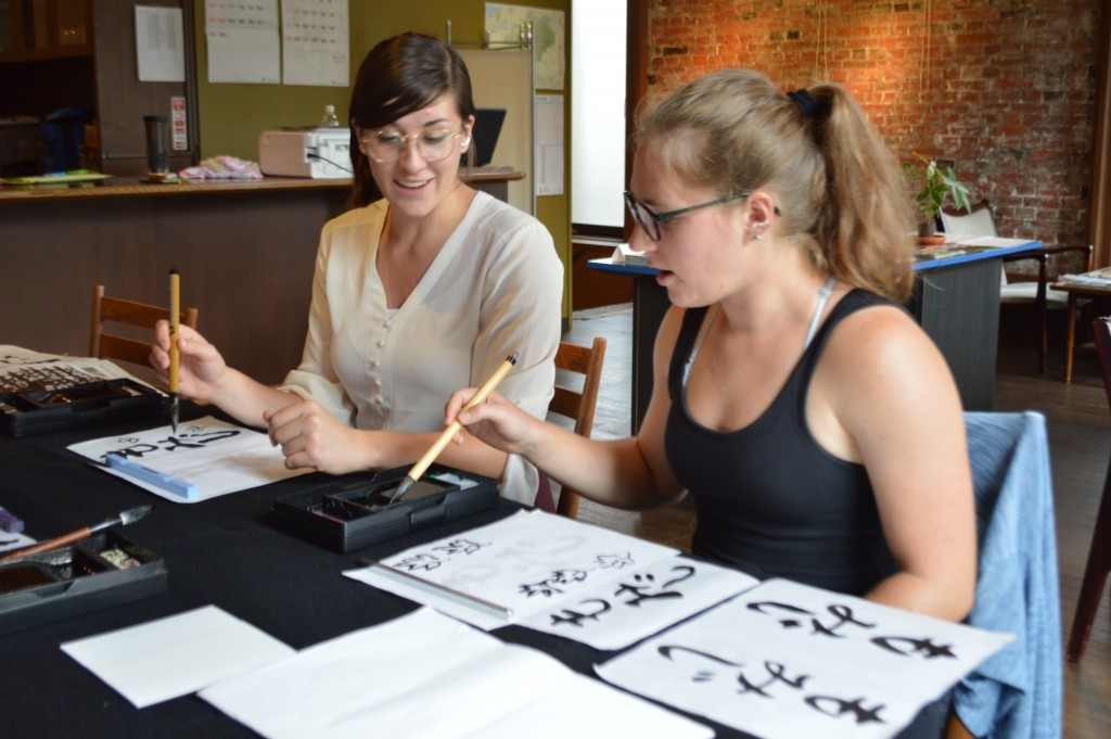 'SHODO' (CALLIGRAPHY) EXPERIENCE IN NAGANO CITY