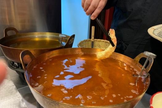 FINE-DINING 'TEMPURA' COURSE AT SHUNKA