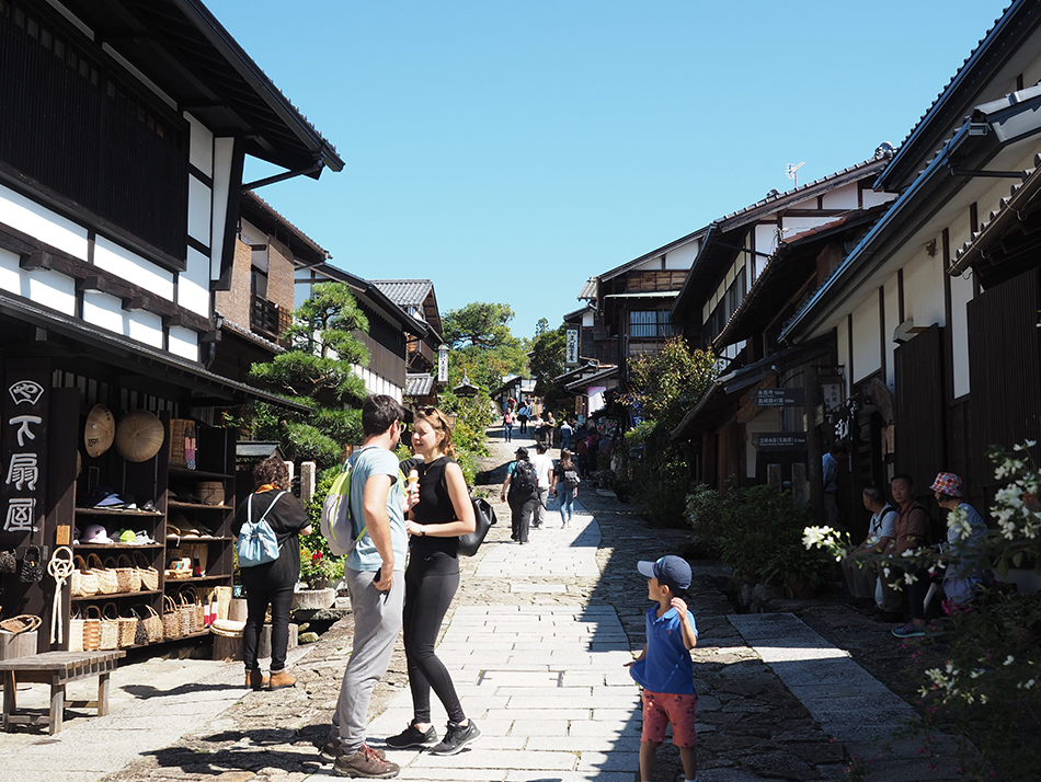 2 days tour from Nagano/Matsumoto to Takayama through the Nakasendo Kiso Valley